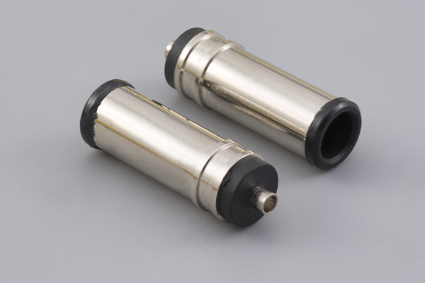 Connector, dc plug, 6.5x1.4x4.3xL20 mm, EIAJ-5, molding style