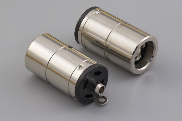 Connector, dc jack, 6.5x3.0xL19.7 mm, molding style