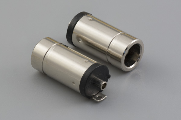 Connector, dc jack, 5.5x2.5xL18.9 mm, molding style, ABS, solder terminals
