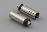 Connector, dc jack, 5.5x2.5xH6.5xL19.5 mm, molding style,