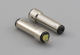 Connector, dc plug, 3.8x1.1x18.3 mm, molding style, spring contacts