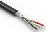 Wire, 4C, 1PR 28 AWG, 2C 26 AWG, UL2725, 30V, 80C, 4.3 mm, shielded, VW-1, PVC, 79A, USB 2.0