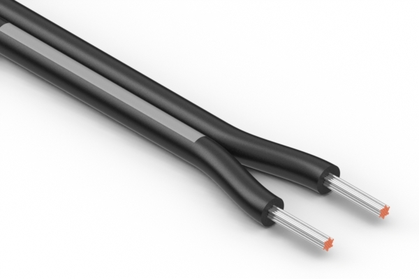 Wire, 2C TS, 20 AWG, UL2651, 300V, 105C, 4.0 mm, VW-1, PVC