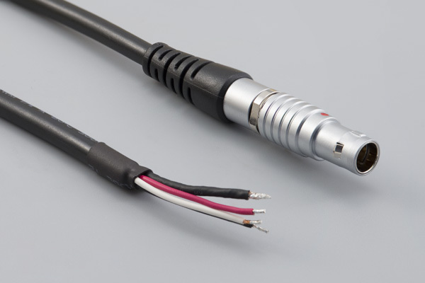 Cable, 1830 mm, 4C PPL7 plug 51-00016.M, to stripped tinned, 24 AWG, UL20280 30-00913