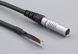 Cable, 1830 mm, 7C PPL7 socket 51-00026.M, to stripped tinned, 28 AWG, UL20280 30-00672